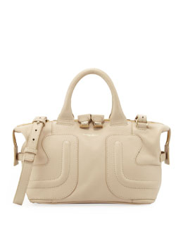 See by Chloe Kay Leather Satchel Bag, Cream