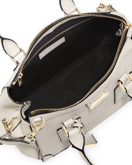 Padlock Satchel Bag, White
