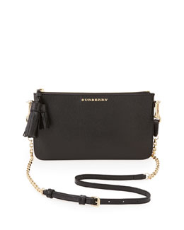 Burberry Crossbody Check Bag, Trench