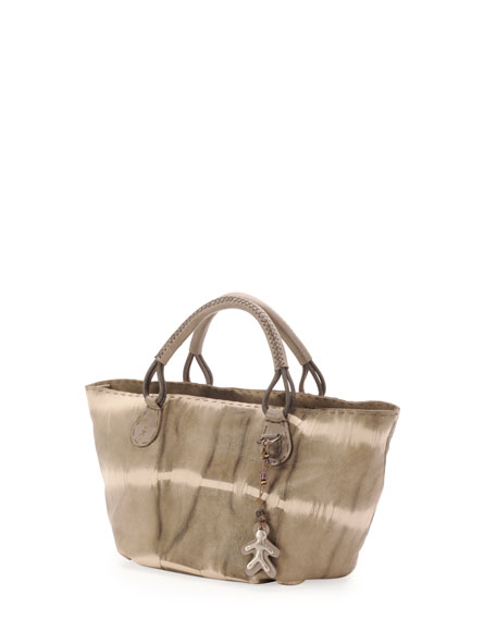Marrakech Tie-Dye Shopper Bag, Gray