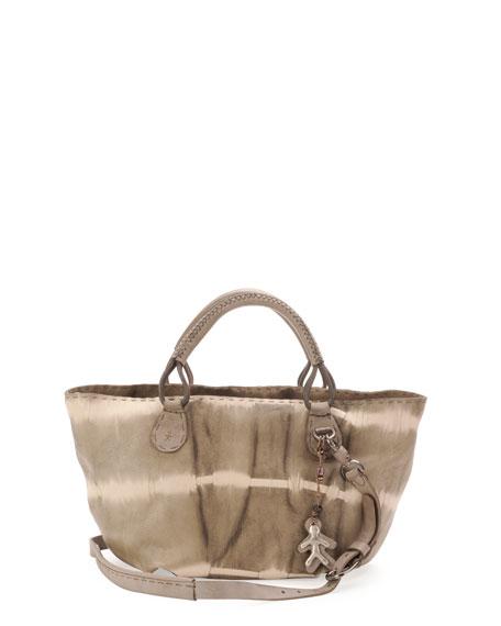 Marrakech Tie-Dye Shopper Bag, Gray