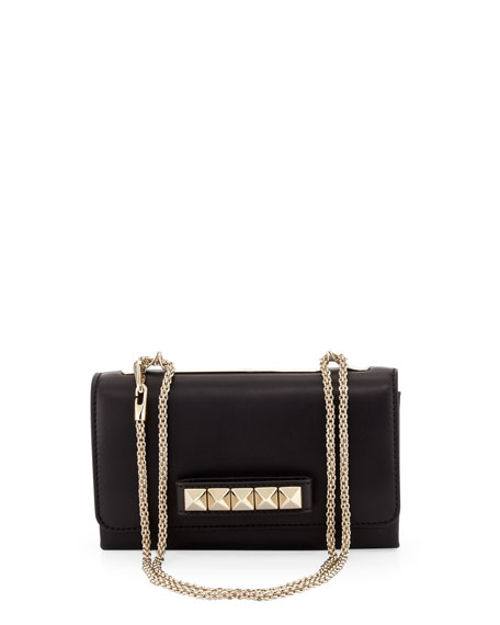 Valentino Va Va Voom Flap Crossbody Bag, Black