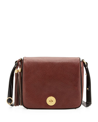 Taylor Crossbody Bag, Walnut