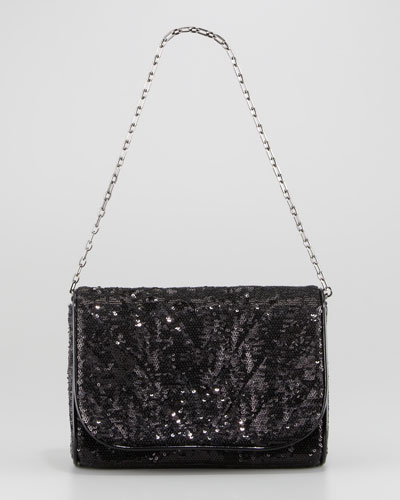Eric Javits Quilt Jazz Sequined Bag