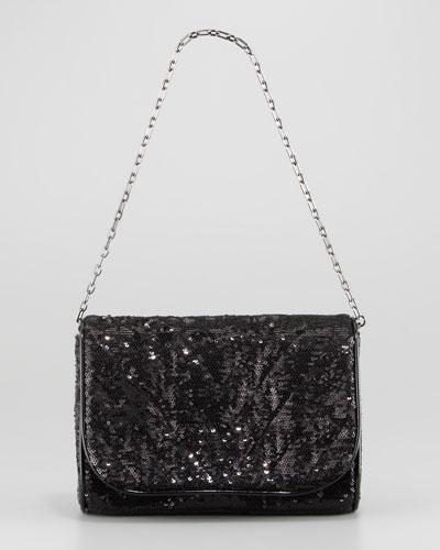 Eric Javits Quilt Jazz Sequined Bag