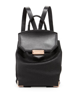 Alexander Wang Prisma Skeletal Leather Backpack