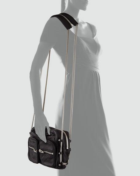 Brenda Chain Shoulder Bag, Black