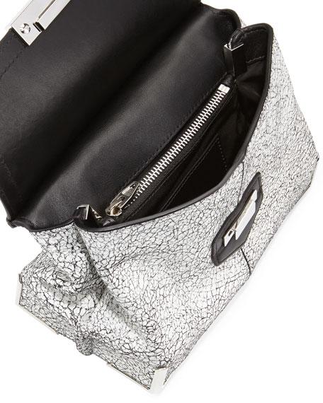Marion Prisma Skeletal Shoulder Bag, White