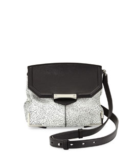 Alexander Wang Marion Prisma Skeletal Shoulder Bag, White