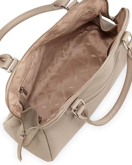 Veau Folonne Satchel Bag, Gray