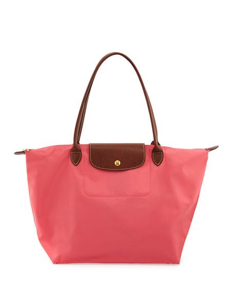 Le Pliage Large Shoulder Tote Bag, Pink