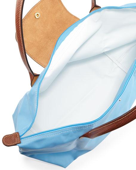 Le Pliage Large Shoulder Tote Bag, Azure