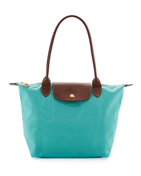 Le Pliage Medium Shoulder Tote Bag, Blue