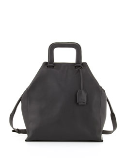 3.1 Phillip Lim Wednesday Trapezoid Tote Bag, Black