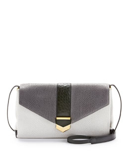 Time's Arrow Orion Convertible Shoulder Bag, Dove Multi