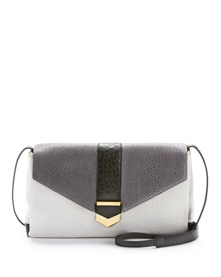 Orion Convertible Shoulder Bag, Dove Multi