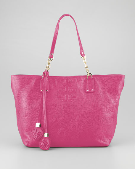 Thea Small Tassel Tote Bag, Wildflower