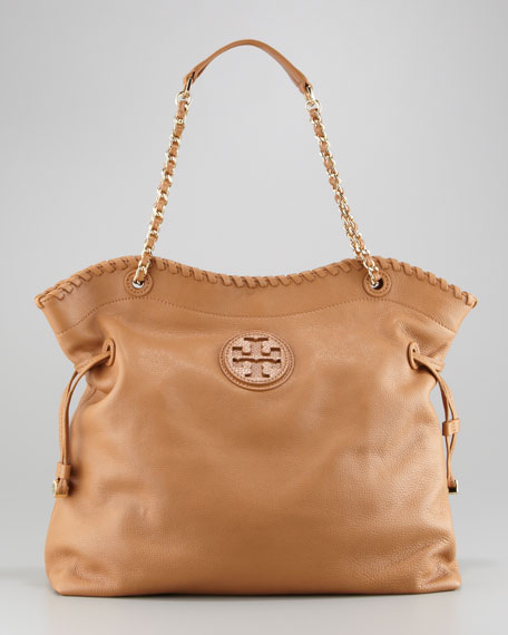 9a08551c7ca Tory Burch Marion Slouchy Leather Tote Bag