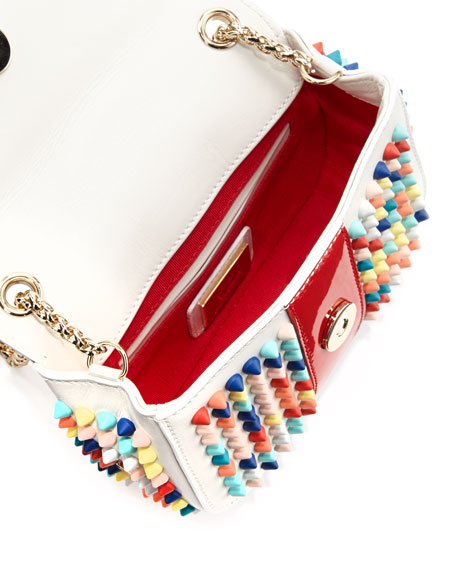 Sweet Charity Small Spiked Crossbody Bag