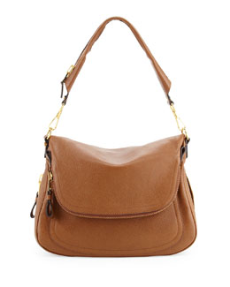 Tom Ford Jennifer Large Leather Shoulder Bag