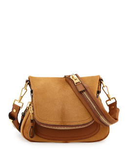 Tom Ford Jennifer Medium Combo Crossbody Bag, Tan
