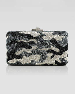 Judith Leiber Couture Airstream Camouflage Clutch Bag, Jet Multi
