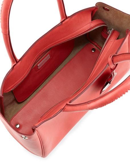 Nolita Medium Calfskin Tote Bag, Rose