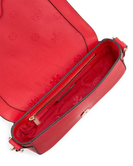 Robinson Mini Chain-Strap Bag, Hot Pink