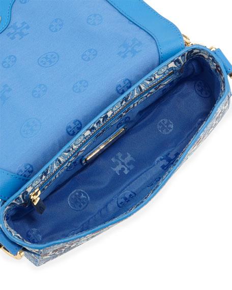 Robinson Printed Chain Mini Bag, Blue