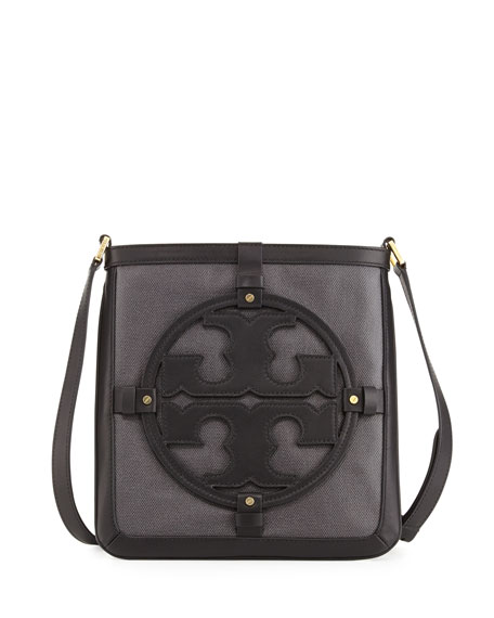 Holly Bookbag Crossbody, Black