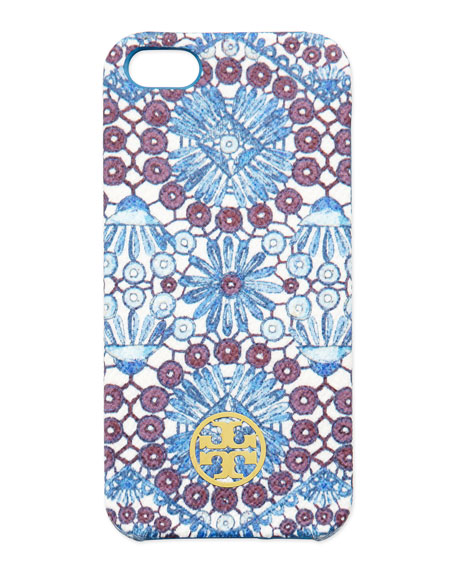 Robinson Printed Hard Shell iPhone 5 Case, Blue Multi