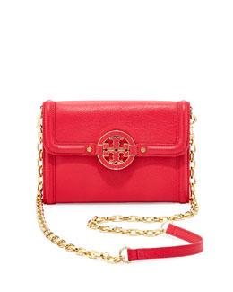 Tory Burch Amanda Wallet On A Chain, Hot Pink