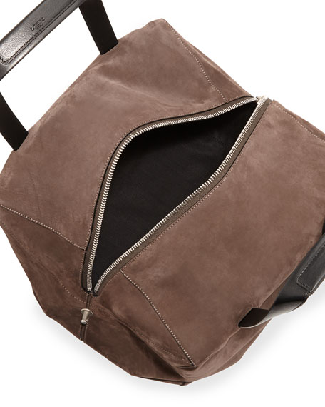 Origami Cubo 30 Large Tote Bag, Charcoal