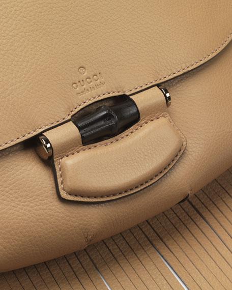 Nouveau Leather Fringe Shoulder Bag, Tan