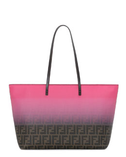 Fendi Ombre Zucca Medium Tote Bag