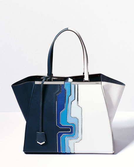 Trois-Jour Grande Geometric Tote Bag