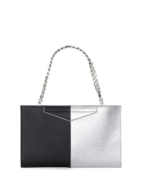 3792bdce9ebd Fendi Grande Bicolor Clutch Bag