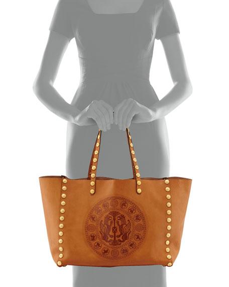 Gryphon Zodiac Tote Bag, Tan