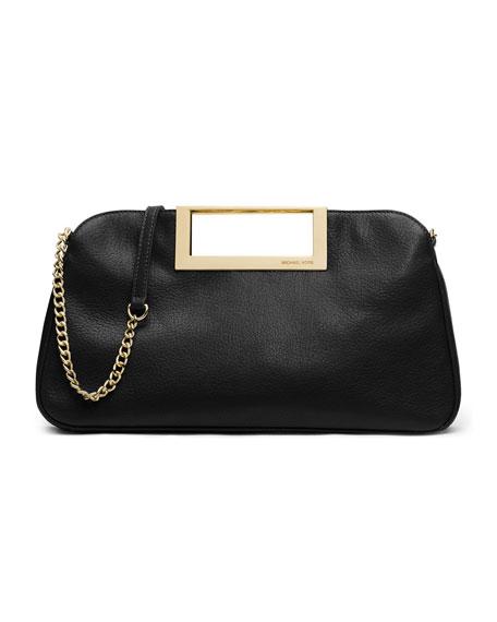 Berkley Large Clutch Bag, Black