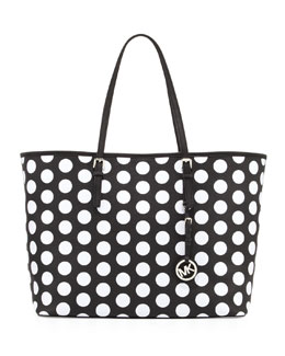 MICHAEL Michael Kors  Jet Set Dotted Travel Tote