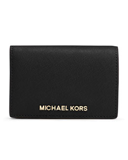 MICHAEL Michael Kors  Medium Jet Set Travel Slim Wallet
