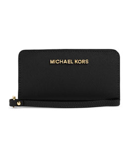 MICHAEL Michael Kors  Slim Jet Set Tech Wristlet
