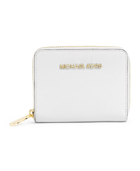 86a7474c2720 Buy michael kors jet set wallet white > OFF65% Discounted