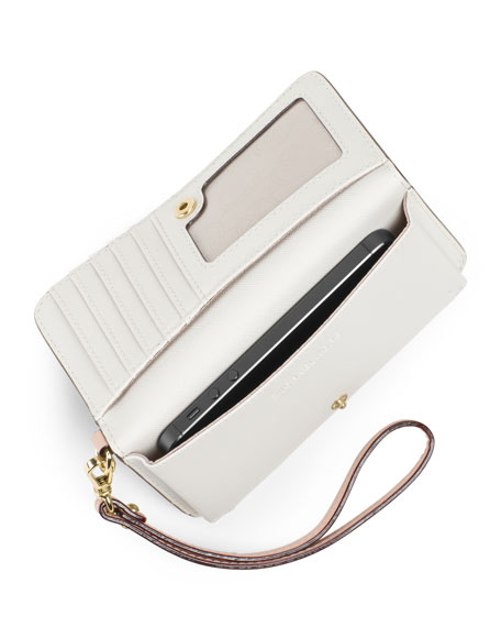 Signature Slim Tech Wristlet