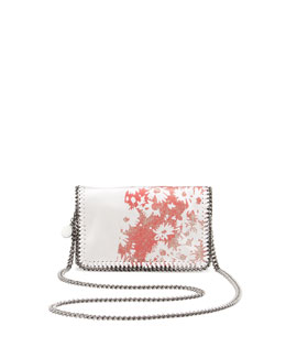 Stella McCartney Falabella Flower-Print Crossbody Bag