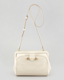 Jason Wu Daphne Leather Crossbody Bag, Ivory