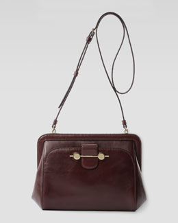 Jason Wu Daphne Leather Crossbody Bag, Bordeaux/Burgundy