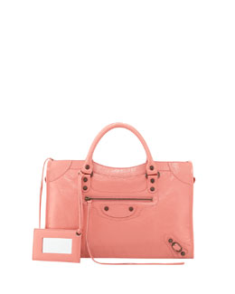 Balenciaga Classic City Bag, Pink