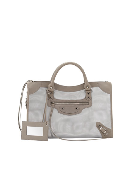 Classic City Mesh Bag, Gray