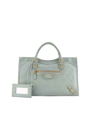 Balenciaga Giant 12 Golden City Bag, Green